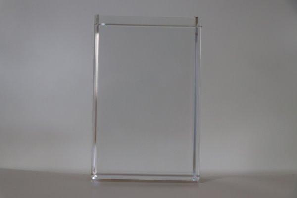 lampe sur bloc de verre cado vertical 120x240x120mm 1 2 sujets magic glass 3d. Black Bedroom Furniture Sets. Home Design Ideas
