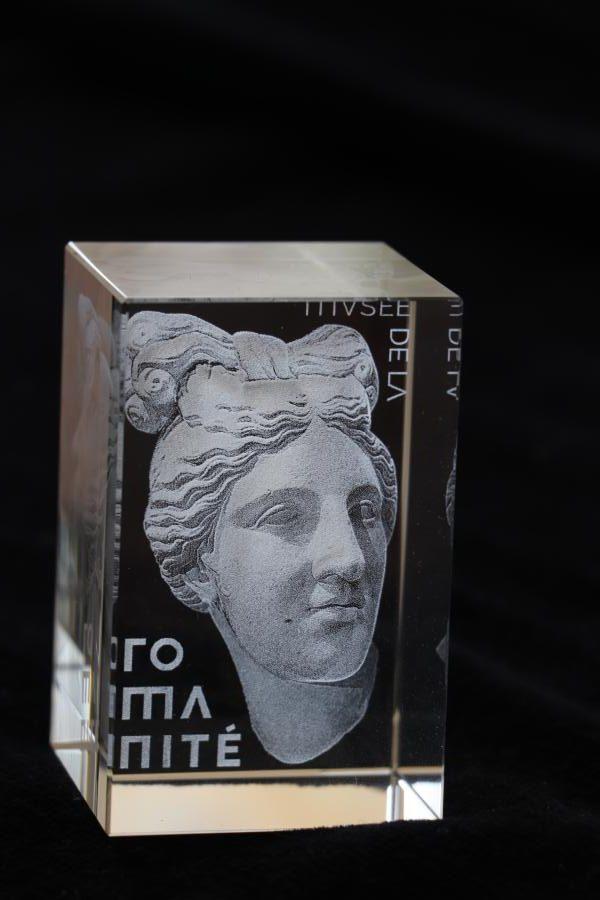 reproduction-oeuvre d'art-musée-statues-gravure3D