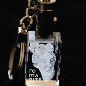 porte-clé-reproduction-musée-oeuvre d'art-gravure3d
